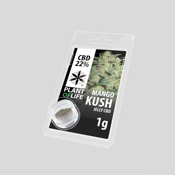 Mango Kush jelly Hash CBD solid 22%