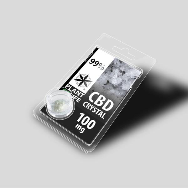 CBD Pure Crystals   99%   100mg   Plant of Life