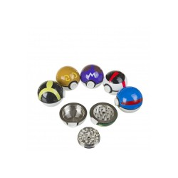 Metal pokemon grinder | Purple & Brown Master Ball