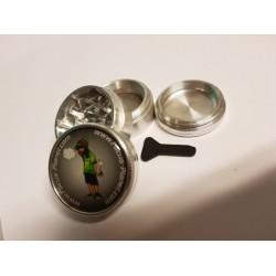 Focus-Planet Aluminium grinder | 40mm | 4 part