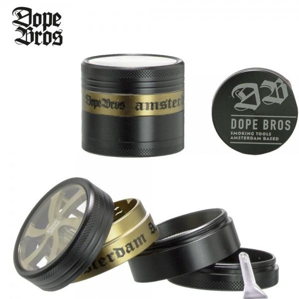 Dope Bros | Grinder | 50mm | 4 part