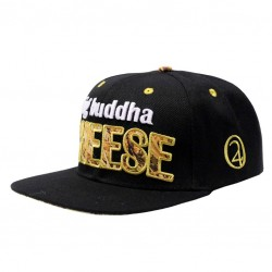 Big Buddha Cheese | Snapback cap | Lauren Rose | Black