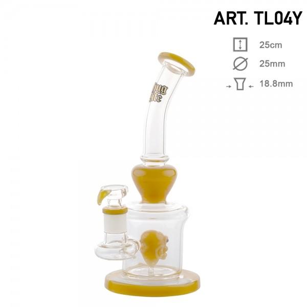 Thug life | Yellow bong | 25cm | UFO
