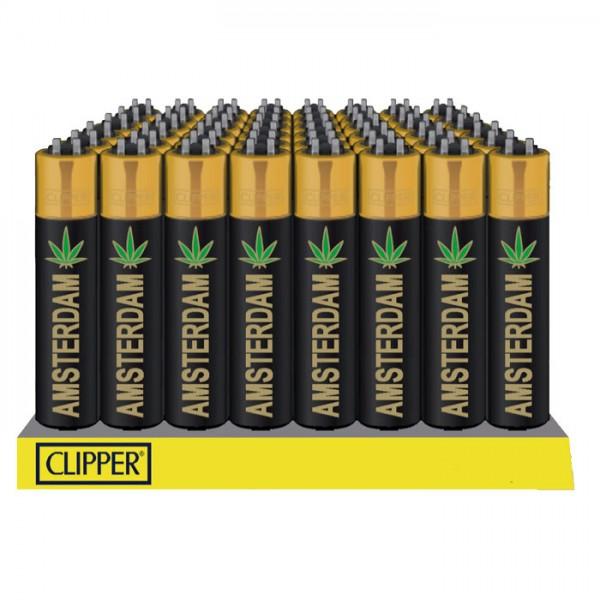 Lighter | Clipper | Amsterdam Gold | Refillable