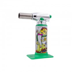 Dunkees art | Torch lighter | Meltdown Green