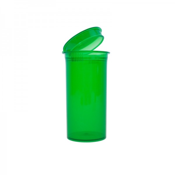 Pop top container 13 drams | 50ml | Green