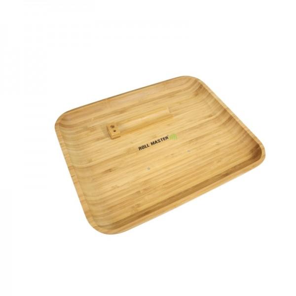 Bamboo Roll master rolling tray Medium