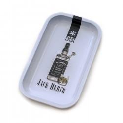 Jack Herer bottle Rolling tray | Medium