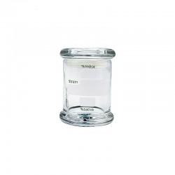 Glass stash jar 89ml | Hermetic closing | 1 jar