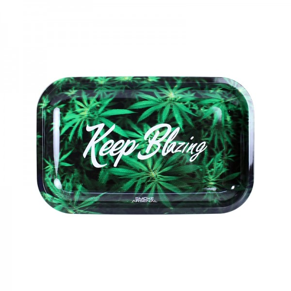 Keep Blazing rolling tray | Medium