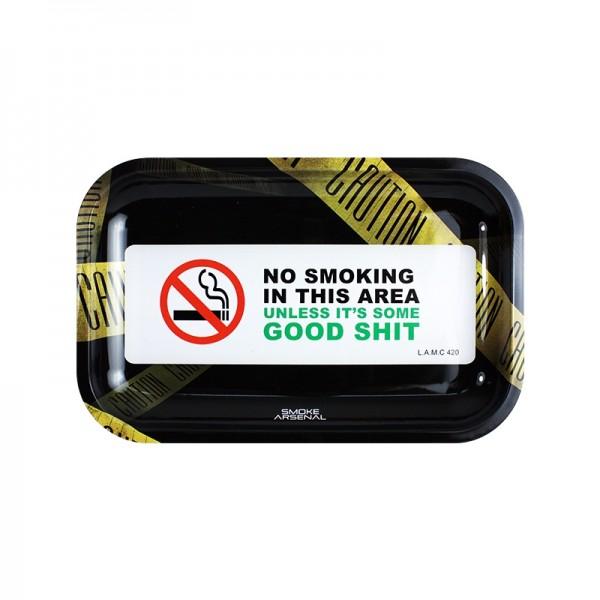 No smoking area rolling tray | Medium