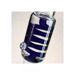 Blaze Glass M&M Tube with cooling spiral | Blue