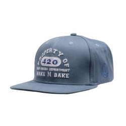 Chaiba 420 wake N Bake | Snapback cap | Lauren Rose | Blue