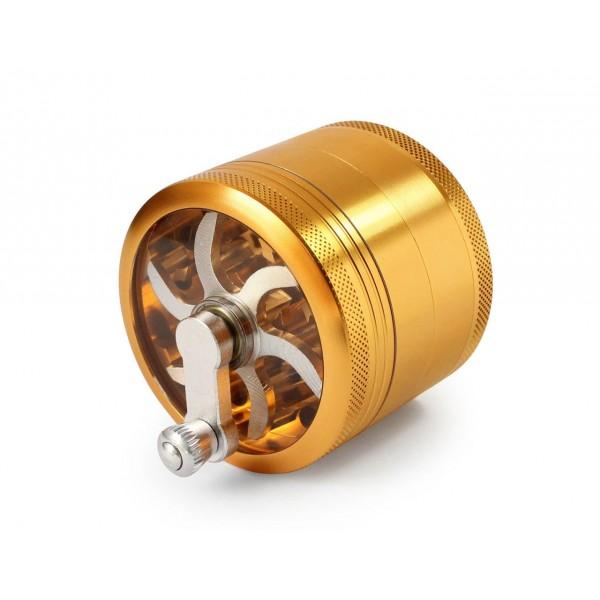 Gold mill grinder | 60mm | Aluminium