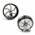 Metal mill grinder | 55mm | 4 Part | Different colors