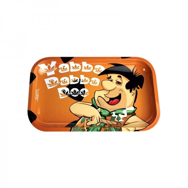 Yabba dabba doo rolling tray | Medium