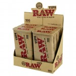 Raw prerolled filter tips box 100pcs