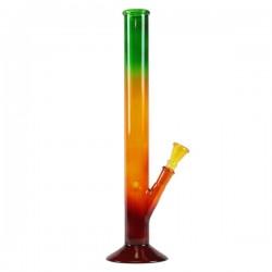 Glass bong | Rasta | 40 cm
