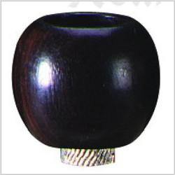 bong bowl | ebony wood