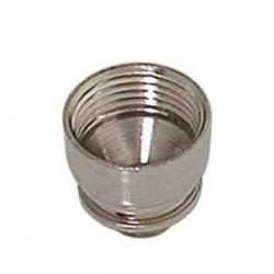 bong bowl | metal | silver