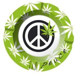 Ashtray | Peace | aluminum