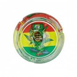Ashtray | Rasta | glass