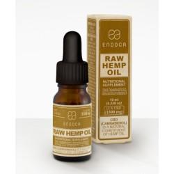 CBDa RAW Hemp Oil 1500 mg | 15% CBDa | Endoca | 10 ml