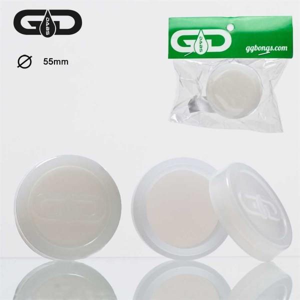 Grace Glass Dabs Glow in the dark Silicone Jar Ø:55mm