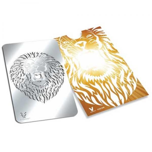 Weed flat grinder | Roaring Lion | stainless steel