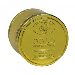 Weed grinder | 4 part | Gold | Aluminum | Ø 50 mm