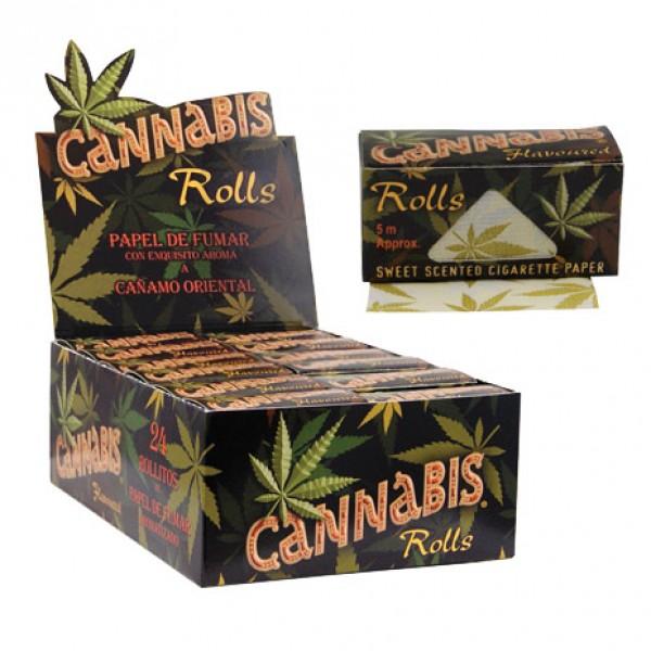 Cannabis Rolls   Box 24 Pcs