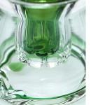 Grace bong    green   saxo bubbler   percolator   22 cm