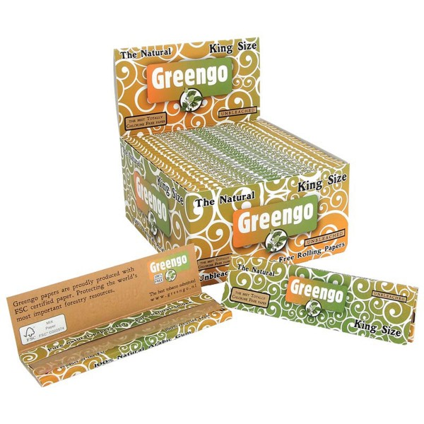 Greengo King Size papers