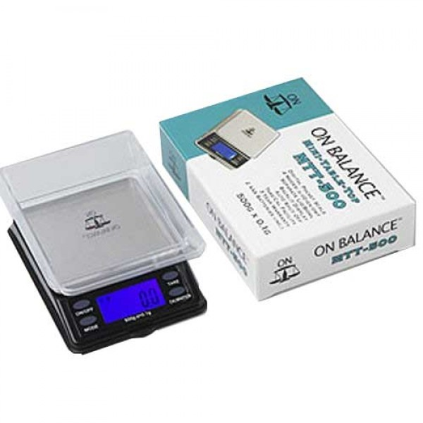 On Balance Mini Table Top Digital Pocket Scale MTT-500   500 x 0.1 g.