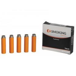 E-Smoking Premium Cartridge - Vanille, Menthol, Regular