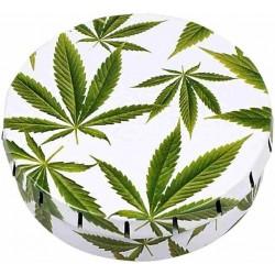 Click Clack box | cannabis leaf | Ø5,5cm