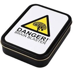 Square box | Metal | Danger  | 8x11cm