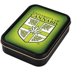 Square box | Metal | University of cannabis  | 8x11cm