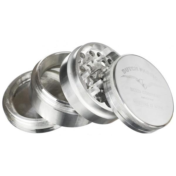 weed grinder | 4 part | Dutch passion | Aluminium |  Ø 50mm