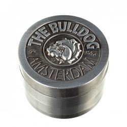 weed grinder | 4 part | Engraved The Bulldog | Aluminium |  Ø 50mm