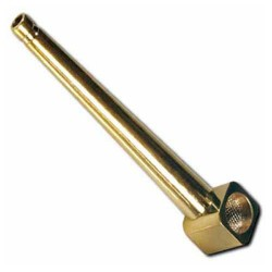 Steel Roller Handpipe Gold