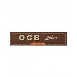 OCB® Virgin Papers Slim Unbleached