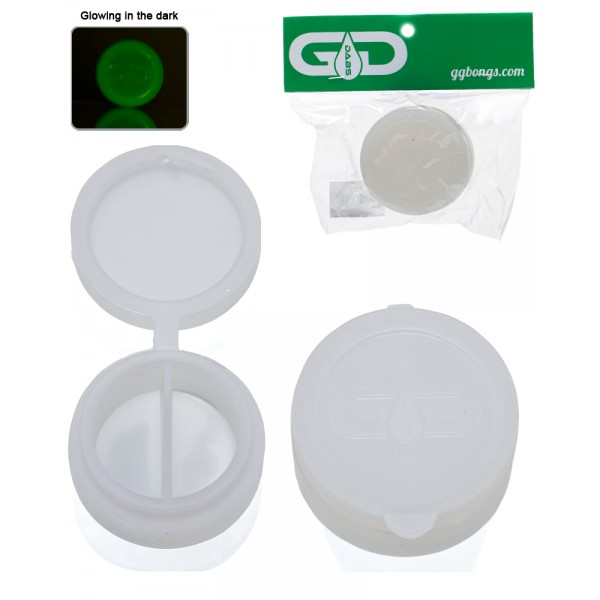 Grace Glass Dabs Glow in the dark Silicone Jar Ø:40mm