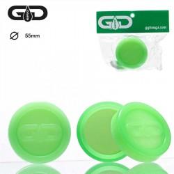 Grace Glass Dabs Green Silicone Jar Ø:55mm