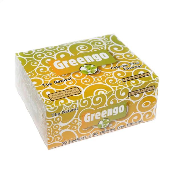 Greengo Filter Tips BOX 50 pcs