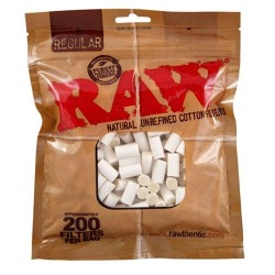 Raw Cotton Filters Regular 7.5mm