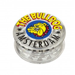 Weed grinder | 3 Part  | The bulldogg | acrylic | Ø 60mm