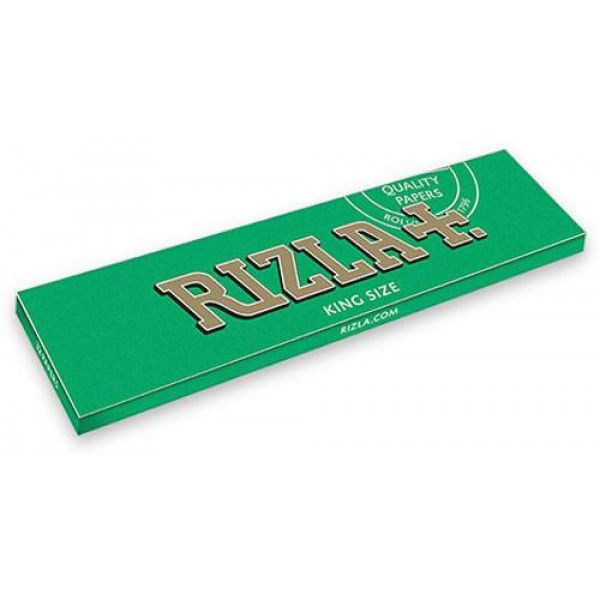 Rizla Green Kingsize Medium Burn