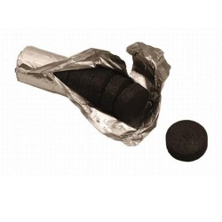 Three Kings Shisha Charcoal small (10 pcs Ø 33 mm)