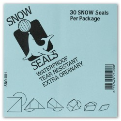 Snow Seals Small 30 pieces